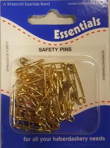 2pc Decorative Safety Pin 13x65mm Pins Haberdashery
